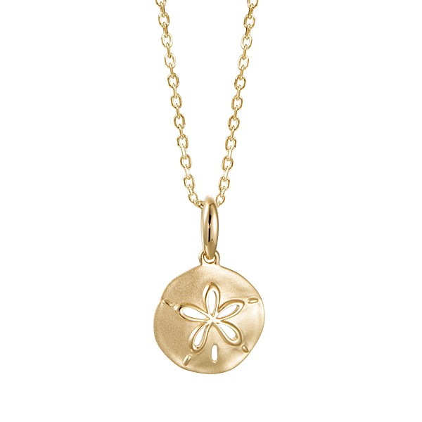 necklace with flower-designed pendant 1